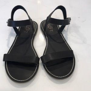Loft navy sandals size 7